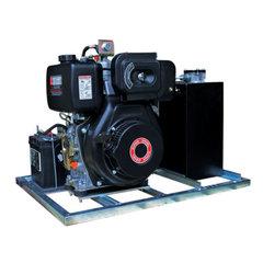 Hydrauliek powerpack met dieselmotor