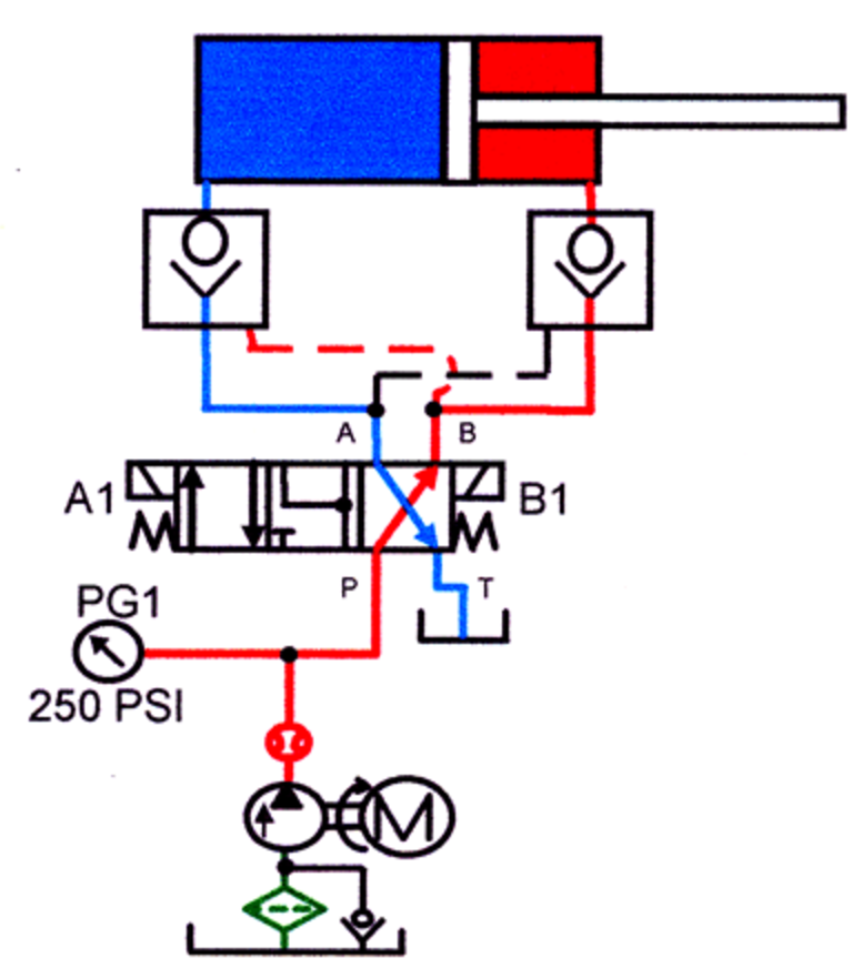 Engineering Mechanical also How Does A Quick Shifter Work In A Motorcycle as well Pneumatic Braking System further Wat Is Een Gestuurde Terugslagklep together with 230288. on hydraulic valve schematic diagram
