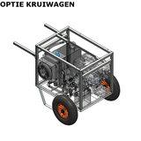 Hydrauliek aggregaat powerpack met 13 pk benzinemotor kruiwagen