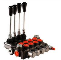 4P80 4 sectie stuurventiel 80 L/min handbediend