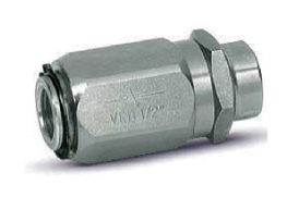 Enkelwerkende snelheids regelventiel - VRF 1/4''