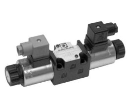 Proportioneel 4/3 12V stuurventiel 8 liter per minuut ABT open