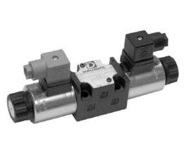 Proportioneel 4/3 12V stuurventiel 4 liter per minuut ABPT gesloten