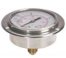 Manometer met achteraansluiting 0-250 bar 1/4'' BSP