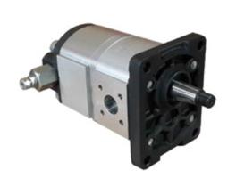 2-traps hydrauliek tandwielpomp 4,5cc - 7cc Gr.2