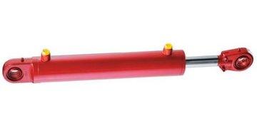 Hydrauliekcilinder 100x50x700 dubbelwerkend met gelenkogen
