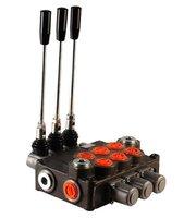 3P120 3 sectie stuurventiel 120 L/min handbediend