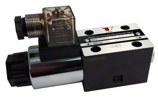 NG6 12V Cetop Elektrisch 4/2 stuurventiel, PA verbonden, BT verbonden