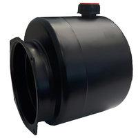 Mini powerpack tank staal horizontaal 4 liter (niet standaard)