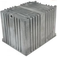 Aluminium hydrauliektank NG zonder deksel 13 liter