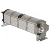 Verdeelmotor, 4 voudig, 3-15,5 l/min