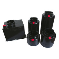 Mini powerpack tank staal Verticaal 25 liter
