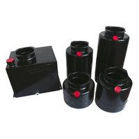 Mini powerpack tank staal Verticaal 30 liter