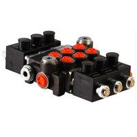 3Z80 3 sectie stuurventiel 80 L/min 24V elektrisch