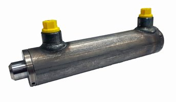 Dubbelwerkende cilinder 40x25x150 zonder bevestiging