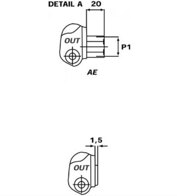 Stuurventiel Walvoil 2 secties G3-18-18L-AE handbediend 45L/min