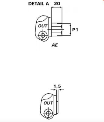 Stuurventiel Walvoil 3 secties 18-18-38L AET handbediend 45L/min