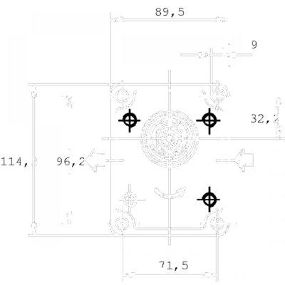 Casappa Tandwielpomp PLP20D 14cc 82E2 rechts 3/4 Gas