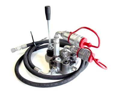 Tractor koppelset met 1 sectie dubbelwerkend stuurventiel