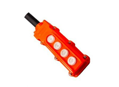 Knoppenkast voor dubbelwerkende powerpack 12V 4 knoppen