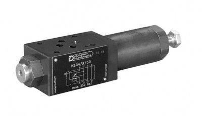 NG6 Druk reduceerventiel P poort 30-140 bar