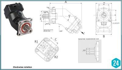 50cc plunjermotor 3/4