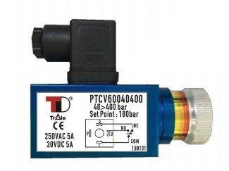 Drukschakelaar 1/4 BSP 20-200 bar