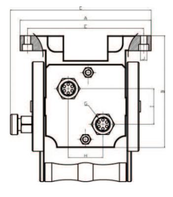 Hydraulische multi koppeling 2 uitgangen 3/8