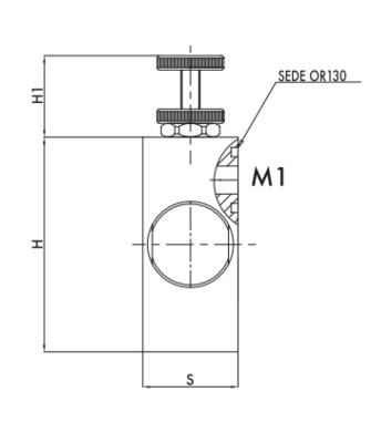 Volumeregelklep drukgecompenseerd 3-weg RFP3 1/2