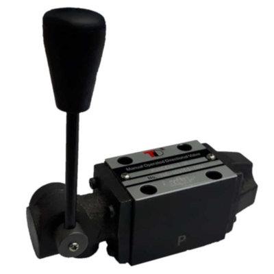NG6 handbediend Cetop 4/2 stuurventiel, P gesloten, ABT verbonden