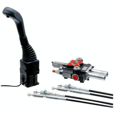 Voorlader stuurventiel 2 functies P40 met joystick