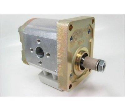 8 cc Bosch Rexroth tandwielpomp links met 1:8 conische as