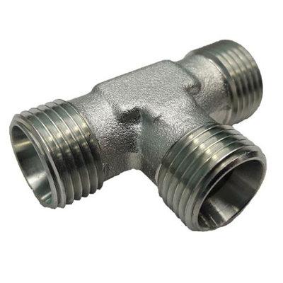 RVS t-koppeling 15L (M22x1,5)
