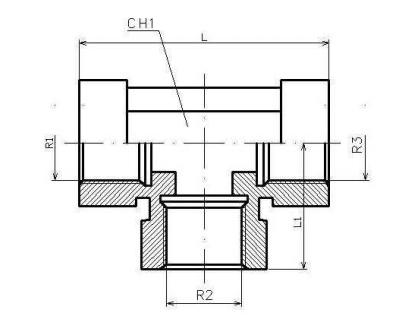 RVS t-koppeling 3/8