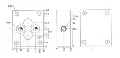 NG6 Blindplaat serie
