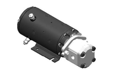 4,0 kW, 24V, motor/pomp combinatie met 5,5cc pomp