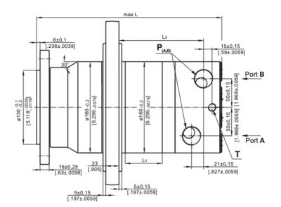 M+S VMF315 Hydraulische motor 315cc
