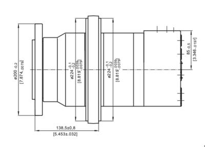 M+S VMF800 Hydraulische motor 800cc