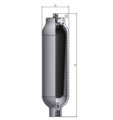 Accumulator 1,5 L 250 bar