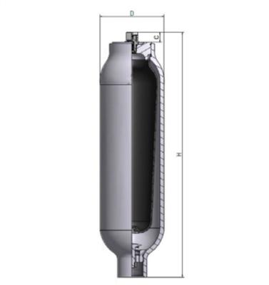 Accumulator 0,7 L 250 bar