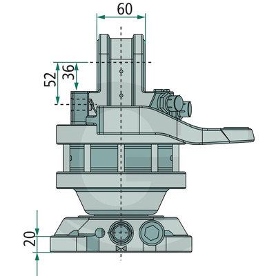 Rotator FHR 3 ton SF