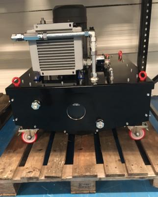 Hydrauliek powerpack 7,5 kW t.b.v. kotter systeem