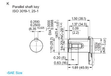 Hydraut plunjerpomp open circuit - 45L/min - 280 bar