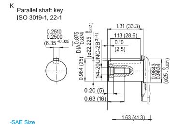Hydraut plunjerpomp open circuit - 28L/min - 280 bar