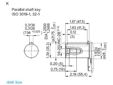 Hydraut plunjerpomp open circuit - 71L/min - 280 bar