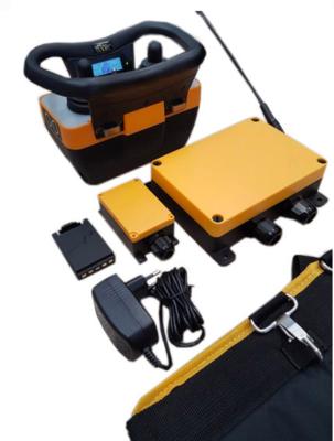 Tele Radio proportioneel hydrauliek besturing set (zender, ontvanger, accu's, accessoires)