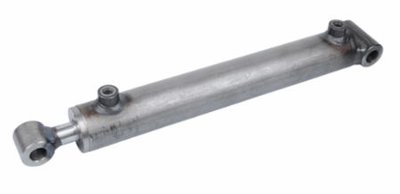 Dubbelwerkende cilinder 40x25x550 met brede bevestiging