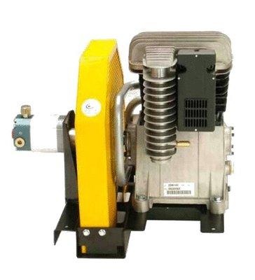 Hydraulische luchtcompressor 600 l/min met snelheidsregeling