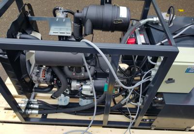 Stage 5 hydraulisch diesel powerpack 19 kW - 25pk - 3 cilinder