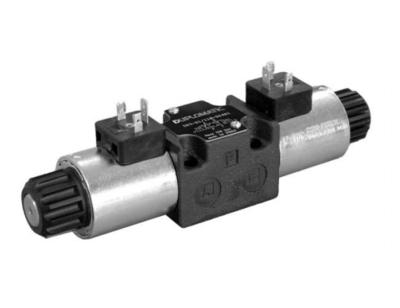 NG6 12 VDC Cetop Elektrisch 4/3 stuurventiel, PT Verbonden AB Gesloten 350 bar